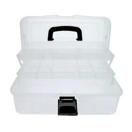 Empty Transparent Caddy - Art Tool Box Thumbnail Image 0