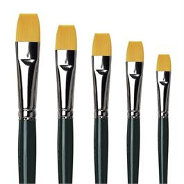 da Vinci Series 122 NOVA Watercolour Brushes - Flat Thumbnail Image 0