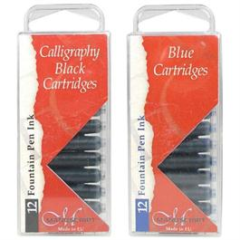 Manuscript Ink Cartridges Pack Of 12 thumbnail
