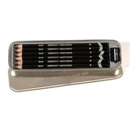 Derwent Sketching Pencils Tin of 6 thumbnail