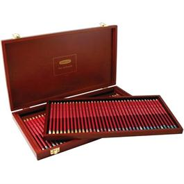Derwent Pastel Pencils Wooden Box of 72 Thumbnail Image 0