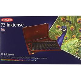 Derwent Inktense Pencils Wooden Box of 72 Thumbnail Image 1