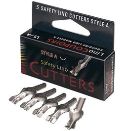 Safety Lino Cutters Style A (Box Of 5) Thumbnail Image 0