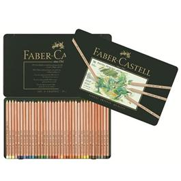 Faber Castell Pitt Pastel Pencil Tin of 36 Thumbnail Image 1