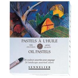 Sennelier Oil Pastels 24 Landscape Assorted Colours thumbnail