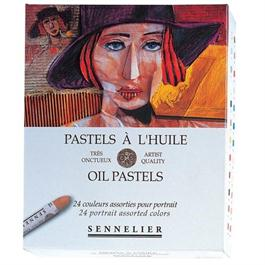 Sennelier Oil Pastels 24 Portrait Assorted Colours thumbnail