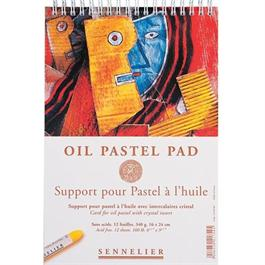 Sennelier Oil Pastel Pad 30cm x 40cm thumbnail