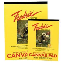 "Fredrix Canvas Pad 9"" x 12"" thumbnail"