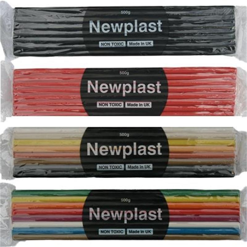 500g Newplast Plasticine By Newplast Violet Block Of Modelling Material