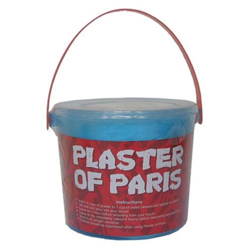 Plaster Of Pars 1kg Tub For Modelling And Sculpting